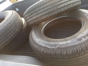 235/80/16 tires 10 ply good condition for Sale in Menifee, CA