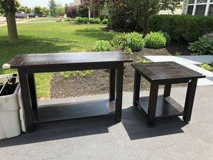 Console table and end table for Sale in Hilliard, OH