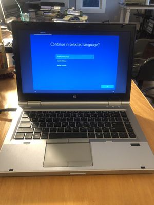Hp elitebook lap top with charger for Sale in Woodburn, OR