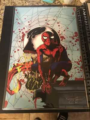 Spider-man venom 11x17 wall art for Sale in Colorado Springs, CO