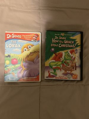 Dr. Seuss DVD BUNDLE for Sale in The Bronx, NY