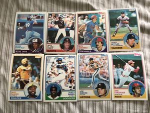 8 vintage baseball cards for Sale in Lowell, MA