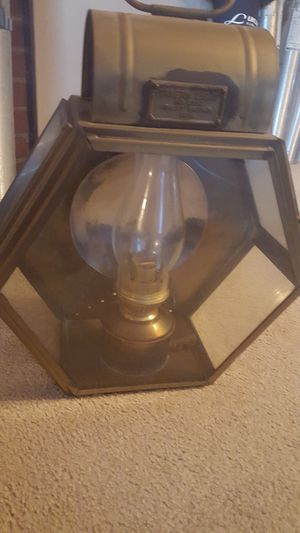 Antique Brass Oil Lamp for Sale in Somerset, MA