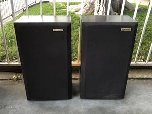 100W Mid Size Pioneer Home Audio House Speakers for Sale in Fresno, CA