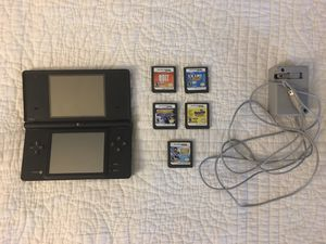 Nintendo DS - 5 Games , Charger for Sale in Goodyear, AZ