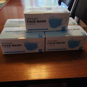 Disposable Face Mask $8 Each 50 Piece for Sale in Redlands, CA