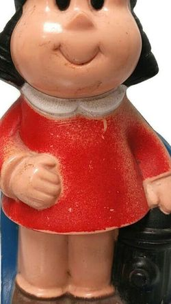 Vintage 1973 Little Lulu Coin Bank Child's Piggy Bank By Western Publishing Co for Sale in Camp Pendleton North,  CA