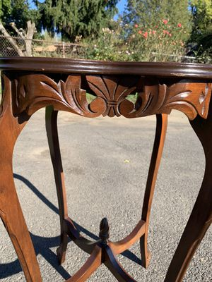 Antique accent table for Sale in Portland, OR