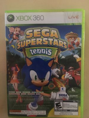 Xbox 360 sega superstar tennis with arcade bundle for Sale in Visalia, CA