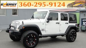2012 Jeep Wrangler Unlimited for Sale in Monroe, WA