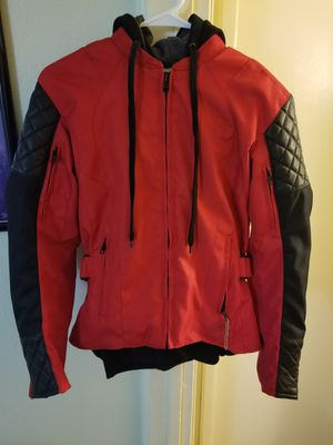 Women's motorcycle jacket and gloves for Sale in Lemon Grove, CA