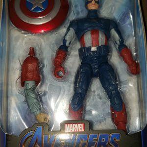 Marvel Legends Avengers Captain America Thor Baf for Sale in Chicago, IL