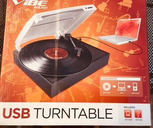 Vibe USB Turntable for Sale in Amherst, OH