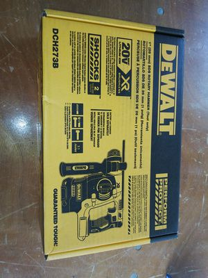 DEWALT 20-Volt MAX XR Lithium-Ion Cordless 1 in. SDS-Plus Brushless L-Shape Concrete & Masonry Rotary Hammer (Tool-Only) for Sale in Atlanta, GA