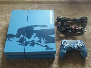 Playstation 4 ps4 500gb uncharted edition for Sale in Kent, WA