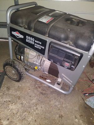 Briggs and stratton generator for Sale in Lansing, IL