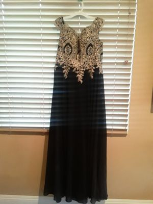 Women dress gold and black for Sale in Los Angeles, CA