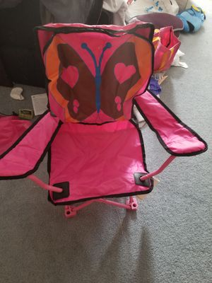 pink camping chair for Sale in Louisburg, NC