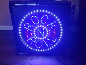 Rock N Roll electric sign for Sale in Marietta, GA