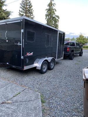 7x14 enclosed trailer for Sale in Tacoma, WA
