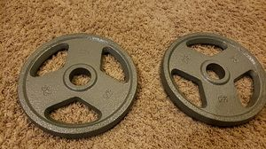 2 25 pound weights for Sale in San Ramon, CA