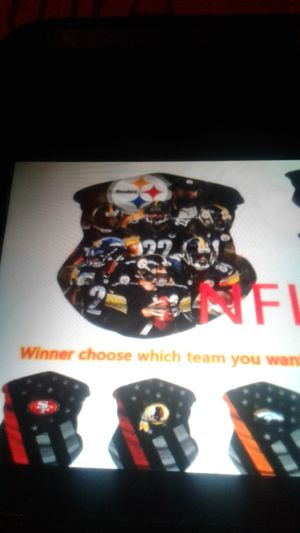 NFL Pittsburgh Steelers face covers for Sale in PA, US