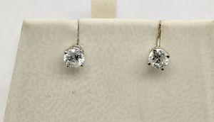 14KT White Gold Diamond Stud Earrings for Sale in Sun City, AZ