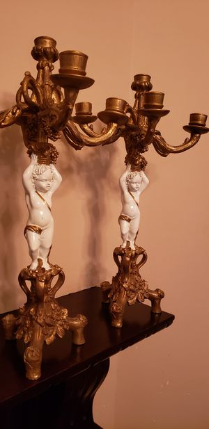 Candelabra/Pair perfect condition for Sale in Dayton, TX