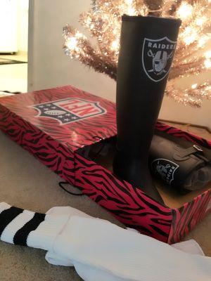 Raiders Rain Boots for Sale in Hillsborough, CA