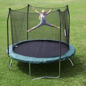 Skywalker Trampolines 10 -Foot Round Trampoline and Enclosure with spring for Sale in Chicago, IL