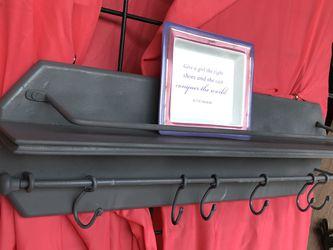 Granite Glazed Wooden Shelf / Hanger Vintage for Sale in Dallas,  TX