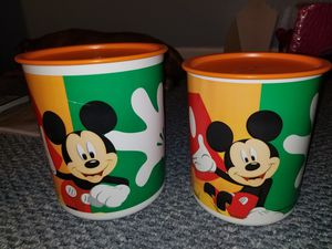 Tupperware Disney Mickey Storage Containers for Sale in Chesapeake, VA
