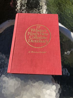 Webster dictionary for Sale in Prospect, CT