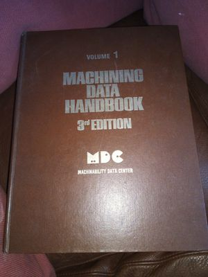 Machining book(volume 1) for Sale in Santa Ana, CA