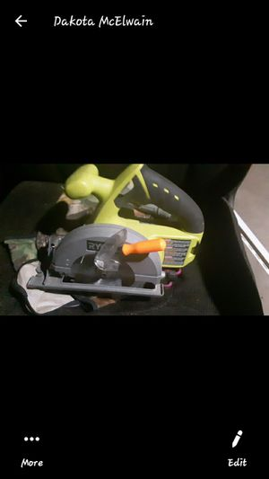 Ryobi battery powered tools. Two batteries. All work good. for Sale in Gulfport, MS