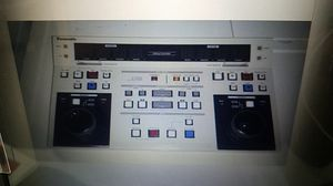 PROFESSIONAL PANASONIC AG-A750 LINEAR VIDEO EDIT CONTROLLER for Sale in Redmond, WA
