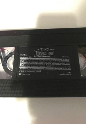 Bambi Vhs tape for Sale in Miami, FL