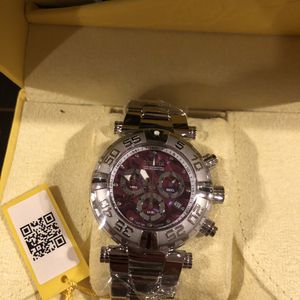 Invicta Purple Face Stainless Steel Watch for Sale in Sloan, NV