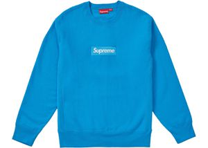Supreme box logo crew neck royal blue size large DS for Sale in Portland, OR