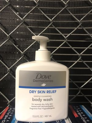 Dove DermaSeries Dry Skin Relief Body Wash, 15.8oz for Sale in Odenton, MD