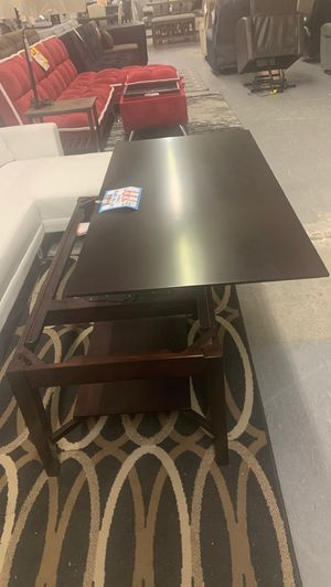 Lift top coffee table espresso for Sale in Temecula, CA