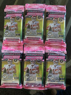 (6) Lot of 2020 Mosaic Football Patrick Mahomes 2 for Sale in Eugene, OR