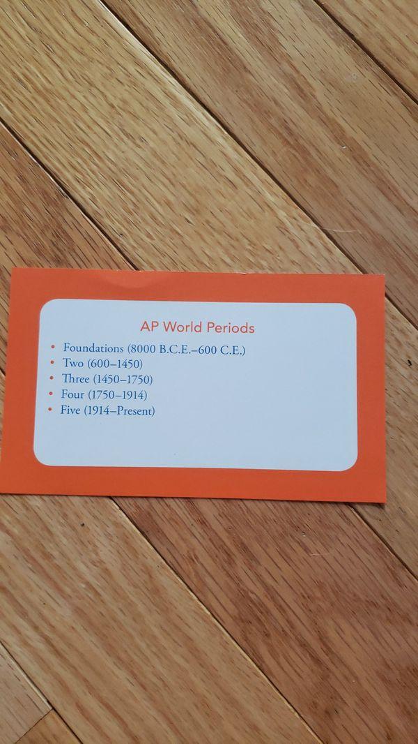 AP World History Flashcards