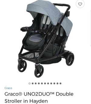 Graco UNO2DUO Double Stroller for Sale in Lynwood, CA