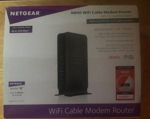 Netgear-N600 Wi-Fi Cable Modem Router for Sale in Ravenna, OH
