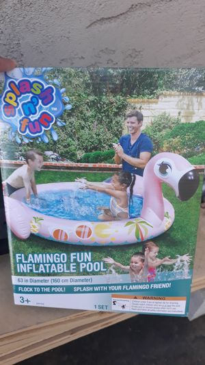 Flamingo or duck pool for kids for Sale in Highland, CA