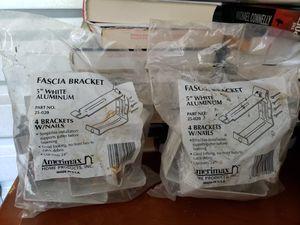 Fascia brackets [3 bags] for Sale in McDonough, GA