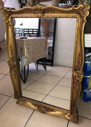 Vintage big mirror for Sale in Las Vegas, NV