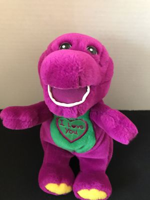 Barney the Dinosaur stuffed plush for Sale in Cave City, KY