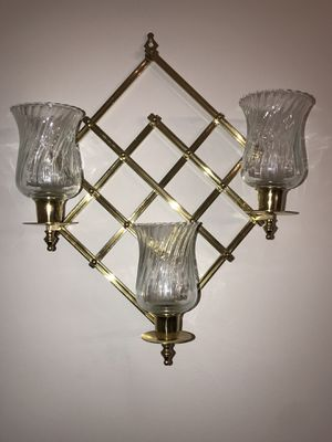Vintage set of two wall Candle sconce for Sale in Kirtland, OH